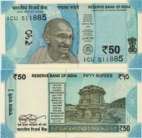 INDIA       50 Rupees       P-111       2018       UNC  [ Sign. Patel - Letter L ] - India