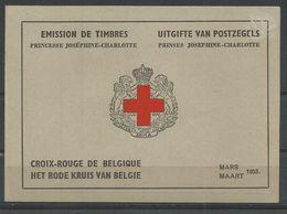 1953 - COB N°914A - Carnet Prédom. Française ** (MNH) - Pas Impeccable - Trace Charnières Sur Couverture - Carnets 1953-....