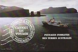 TAAF - Carnet De Voyage - 2007 - Yvert N° C478 **  - Paysages Insolites Des Terres Australes - Booklets