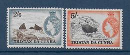 TRISTAN DA CUNHA - YVERT N° 25+26 * MLH - COTE = 93 EUR. - FAUNE ET FLORE - - Tristan Da Cunha