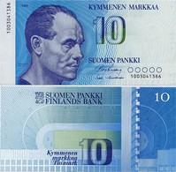 FINLAND       10 Markkaa       P-113a       1986        UNC - Finlandia