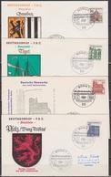 BRD FDC 1964 Nr.454 - 461 Deutsche Bauwerke Aus 12 Jahrhunderten ( K 48 ) Günstige Versandkosten - BRD