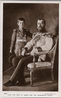 Tsar Nicolas II Et Alexis - Russie