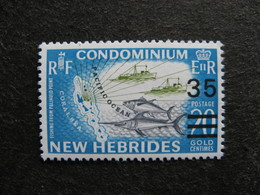 Nouvelles-Hébrides: TB N° 299, Neuf XX. - Englische Legende