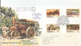 Christmas Island - 1990 Transport FDC - Christmas Island