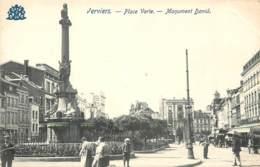 BELGIQUE VERVIERS PLACE VERTE MONUMENT DAVID - Verviers