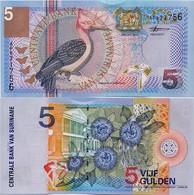 SURINAME       5 Gulden       P-146       1.1.2000       UNC - Suriname