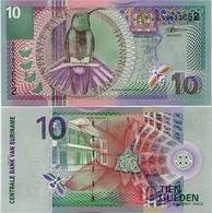 SURINAME       10 Gulden       P-147       1.1.2000       UNC - Surinam