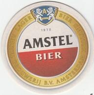 UNUSED BEERMAT - AMSTEL BIERE (AMSTERDAM, NETHERLANDS) - Sous-bocks