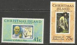 Christmas Island - 1990 Henry Ridley MNH **  Sc 275-6 - Christmas Island