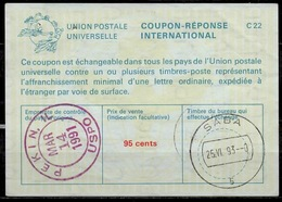 SABA ( Caribbean Netherlands ) As Redemption Postmark On International Reply Coupon Reponse Antwortschein IAS IRC USA 1 - Antillen