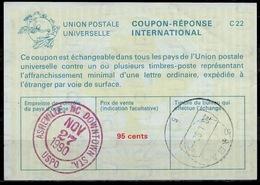 SABA ( Caribbean Netherlands ) As Redemption Postmark On International Reply Coupon Reponse Antwortschein IAS IRC USA 3 - Antillen