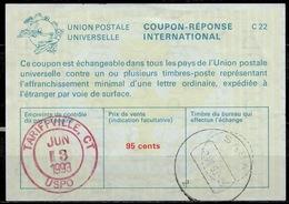 SABA ( Caribbean Netherlands ) As Redemption Postmark On International Reply Coupon Reponse Antwortschein IAS IRC USA 4 - Antillen