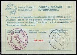 SABA ( Caribbean Netherlands ) As Redemption Postmark On International Reply Coupon Reponse Antwortschein IAS IRC USA 5 - Antillas Holandesas