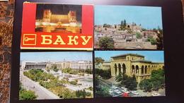 Big Lot - AZERBAIJAN. Capital BAKU. 14 POSTCARDs  - 1970s - Azerbaïjan