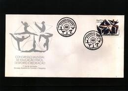 Brazil 1991 Gymnastics FDC - Gymnastik