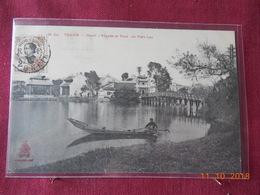CPA - Tonkin - Hanoï - Pagode Et Pont Du Petit Lac - Vietnam