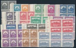 ** 1926 Pengő-fillér (I.) Komplett A Sor 6-os Tömbökben (150.000) - Stamps