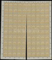 ** 1913 Turul 2f Elválóban Lévő Teljes ív Fekvő Vízjellel (140.000++) - Stamps