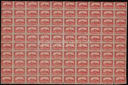 ** 1921-1923 Parlament 2.000K VII A Vízjellel, 100-as ívben, ívszéli Nélkül (140.000) (fogelválások) - Stamps