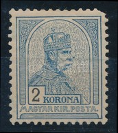 * 1900 Turul  2K (sarokfog Hiány) (120.000) - Stamps