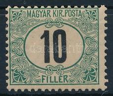 ** 1905 Zöldportó 10f ,,A' (100.000) - Stamps
