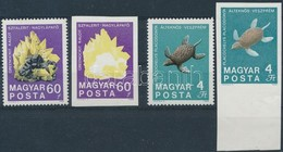 ** 1969 Földtani Intézet 60f és 4Ft Vágott Bélyegek Fekete Színnyomat Nélkül + Támpéldányok (80.000) - Stamps