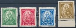 ** 1932 Nagy Madonna Luxus Sor, A 10P ívszéli (70.000) - Stamps