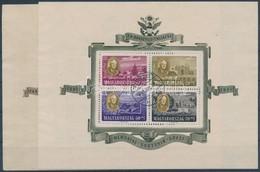 O 1949 Roosevelt Blokk Pár (50.000) - Stamps