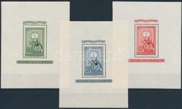 ** 1951 80 éves A Magyar Bélyeg Blokk Sor (45.000) - Stamps