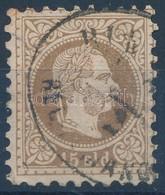 O Magyar Posta Romániában 1867 15sld 'BUK(AREST) RECOMAND(IRT)' (44.000) - Stamps