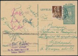1945 III. 21 Budapest Szükségtarifa Korszak (1945 III. 2-V. 1) Lásd Dr Nagy Ferenc Tanulmánya Philatelica R! - Stamps