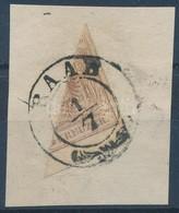 1850 6kr Felezett Bélyeg 'RAAB' - Stamps