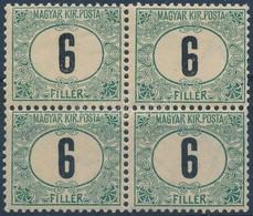 ** 1903 Zöldportó 6f Négyestömb (32.000++) - Stamps