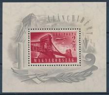** 1948 Lánchíd I Blokk (30.000) - Stamps