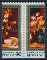 ** 1977 Virágcsendéletek 40f Látványos Elfogazással - Stamps