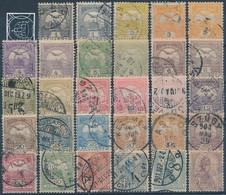 O 1900 Turul Teljes Sor - Stamps