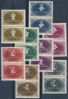 ** 1945 Szakszervezet I. Sor Párokban (24.000) - Stamps