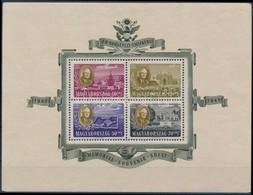 ** 1947 Roosevelt Légiposta Blokk (25.000) (kerethibák / Faults On Margin) - Stamps