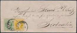 ~1870 2kr + 3kr Levélen 'DEBRECZEN' - Stamps