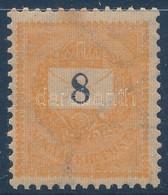 ** 1899 8kr (26.000) (enyhe Rozsda Felül / Light Stain Above) - Stamps