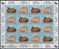 ** 1991 Europa CEPT Teljes ív (20.000) - Stamps