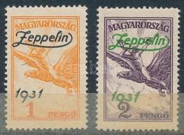 ** 1931 Zeppelin Pár (24.000) - Stamps