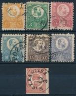 O 1871 Réznyomat Sor + Könyvnyomású Hírlapbélyeg (20.350) - Stamps