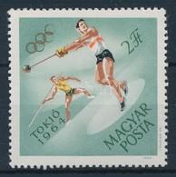 ** 1964 Tokiói Olimpia 2Ft Festékhiányos Arany Karikák - Stamps