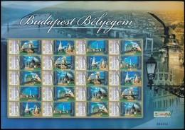 ** 2007 Budapest Bélyegem 2009-ben Megszemélyesített Teljes ív (13.500) - Stamps