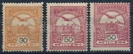 ** 1906 Turul 30f + 2 Db Elfogazott 50f (12.000) - Stamps