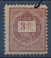 ** 1888 3Ft Korona Felett Javítással - Stamps