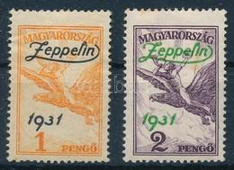 ** * 1931 Zeppelin Pár (1P Falcos) - Stamps