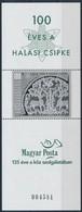 ** 2002 Halasi Csipke Fekete Nyomat AJÁNDÉK Blokk (12.000) - Stamps